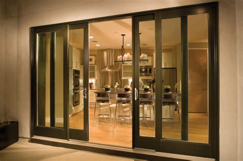 Glass Door Seattle Sliding Glass Patio Doors Contemporary Patio Seattle By Milgard Windows Doors
