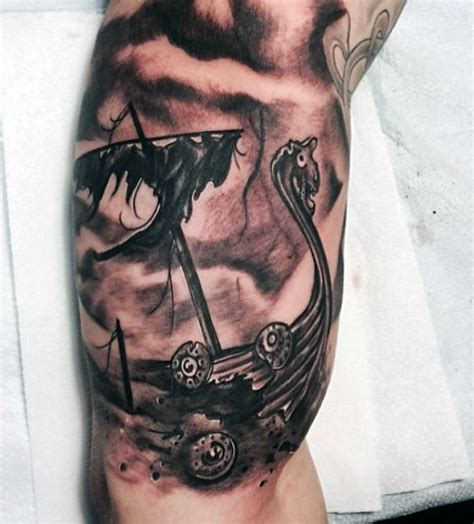 norse tattoos for men 70 viking tattoos for germanic norse seafarer designs