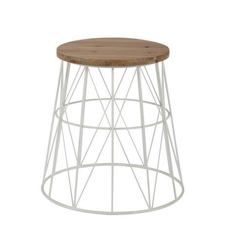tavolini da divano tavolino da divano bianco in metallo l 45 cm summer