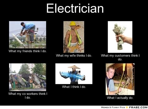 Electrician Memes - image gallery electrician memes