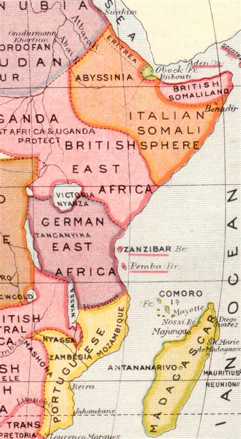 east africa map german east africa 1885 1919 187 dead country sts and banknotes