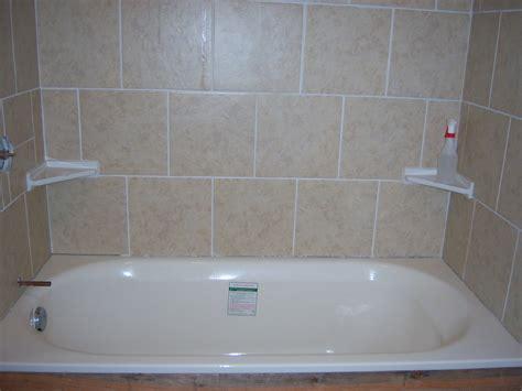 diy tile bathtub kott in the garden diy tile shower tub surround
