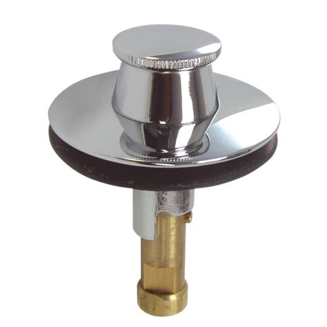lift and turn bathtub stopper universal lift and turn drain stopper in chrome danco