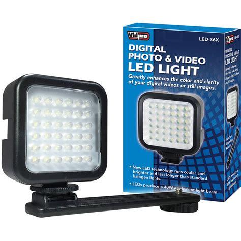 vidpro professional led light vidpro led 36x photo on led light led 36x b h