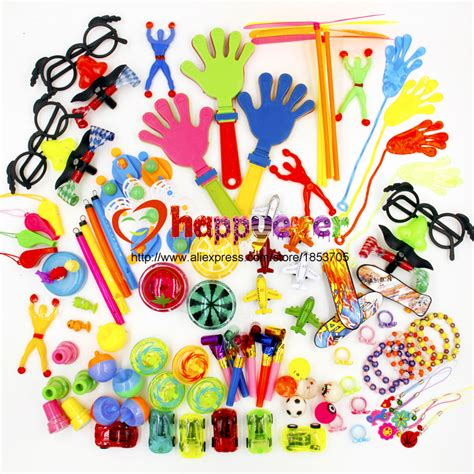 Sweepstakes For Kids - aliexpress com buy 100pcs toys for kids party favors supplies girl boy birthday gift