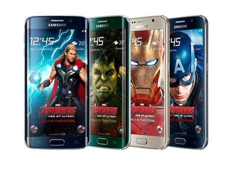 s6 edge avengers themes download samsung galaxy s6 the avengers themes und weitere designs