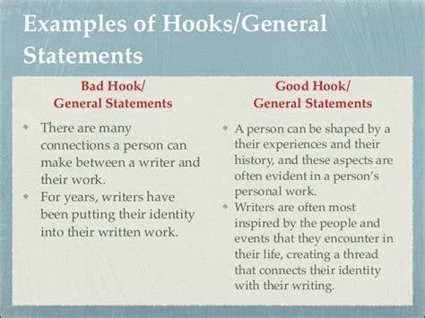 College Essay Hook Exles by College Essays College Application Essays Hooks For Essays Exles