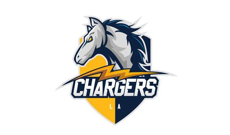 chargers logo fans throw together designs all of which are better than
