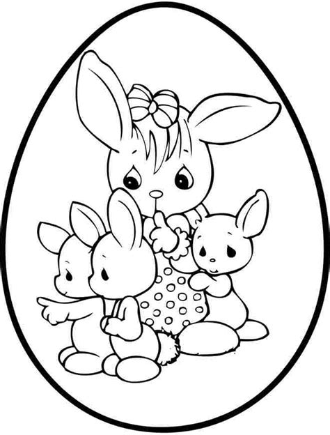coloring pages easter egg printable for girls boys