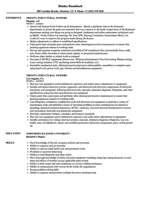 Apprentice Glazier Resume by 100 Welding Resume Manufacturing Resume Skills Resume For