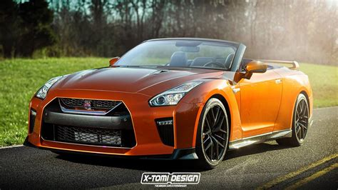 nissan gtr 2017 nissan gt r convertible imagined gtspirit