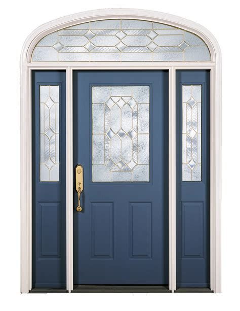 decorative glass door sidelights blue painted solid wood front door with double sidelight
