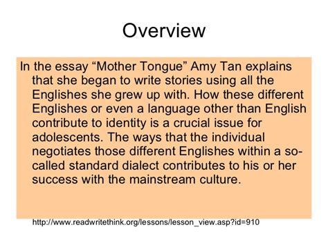 thesis about mother tongue based education mother tongue essay thesis statement thesis statements