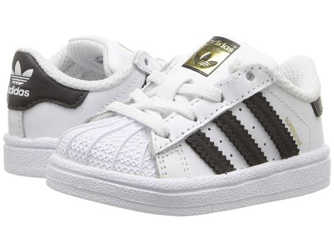 cheap shoes adidas originals superstar infant toddler black black black discount
