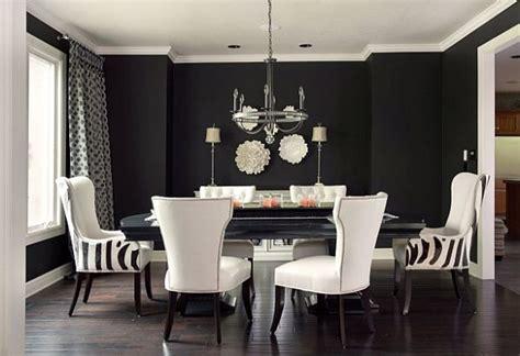 black    white sophisticating  room