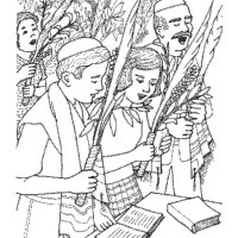 jewish coloring book pages sukkot free jewish coloring pages for kids family
