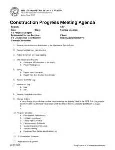 pre construction meeting agenda template construction progress meeting agenda hashdoc