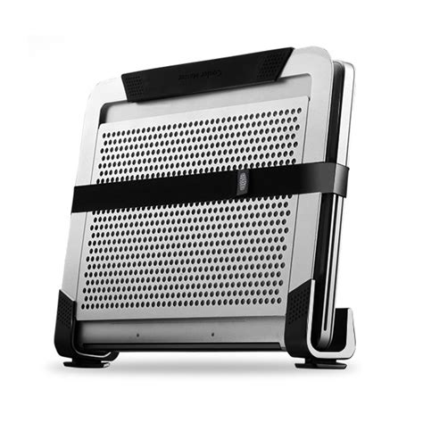 Cooler Master Notepal U2 Plus Movable Fan Aluminium Cooling Pa cooler master notepal u2 plus black movable fan aluminium cooling pad fits up ebay