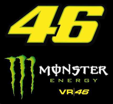 Sticker Vr46 07 new valentino energy vr46 authentic snapback