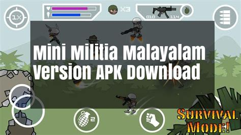 full version mini militia mini militia malayalam apk theri version download 2017