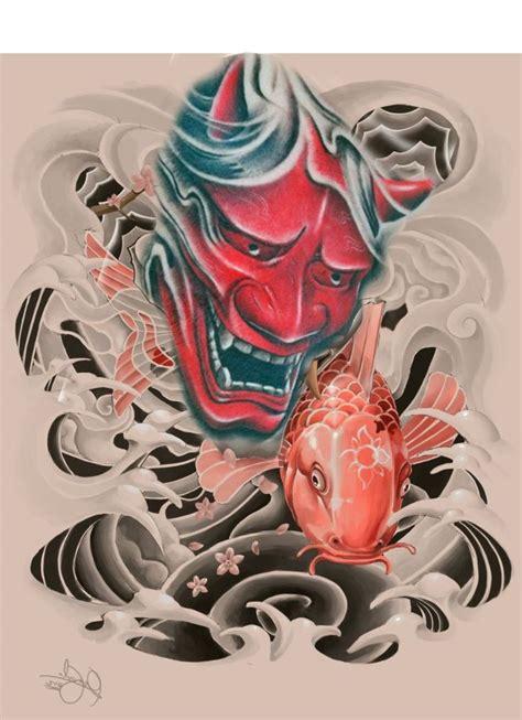 tattoo oriental hanya 157 best images about hanya tattoo on pinterest oni mask