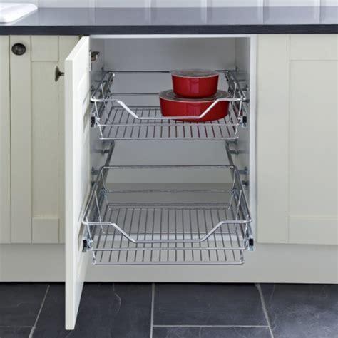 Hafele Kitchen Pull Out Wire Basket Set