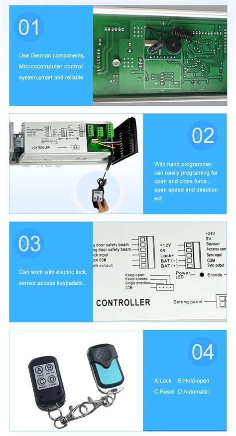 Remote Control Automatic Swing Door Opener Electric Door