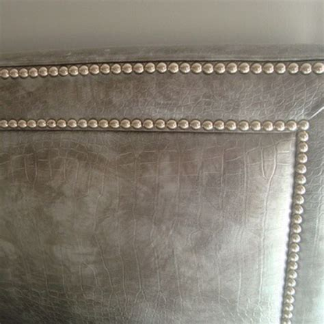 tufted studded headboard the world s catalog of ideas