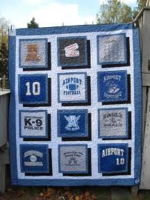 Favourite shirts into a t shirt quilt craft projects for every fan