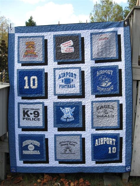 turn your favourite shirts into a t shirt quilt
