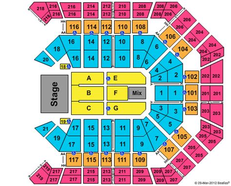 grand arena floor plan las vegas tickets concertboom