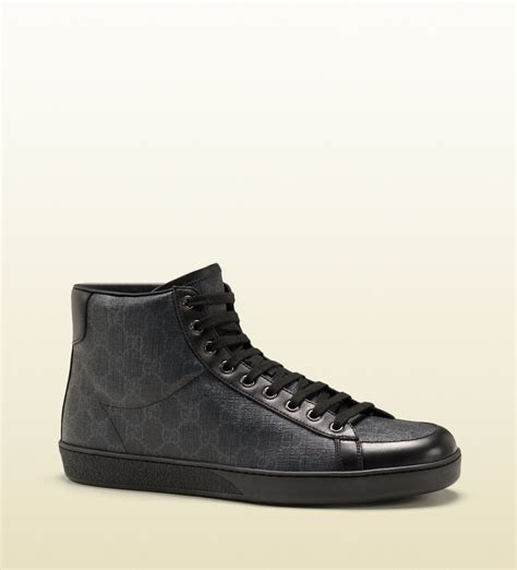 The Best Prada 3in1 Seprem gucci gg supreme canvas high top sneaker in black for lyst