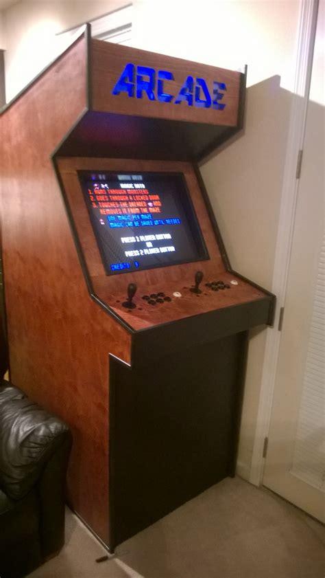 building  basic arcade cabinet