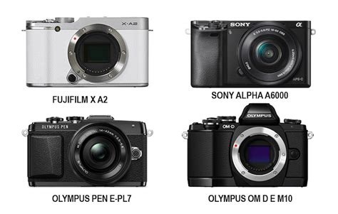 Kamera Mirrorless Olympus perbandingan kamera jenis mirrorless olympus sony fujifilm