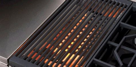 piani cottura professionali da incasso icbsrt484cg piano cottura con grill collezione piani