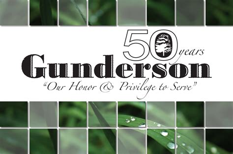 gunderson funeral home and cremation services celebrates