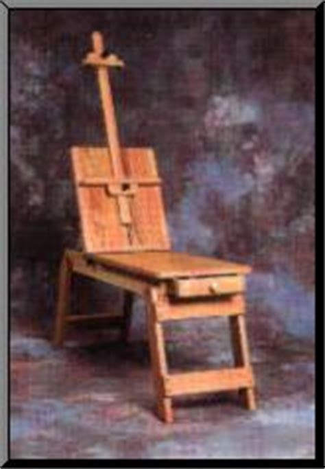 art bench easel best caballo art bench easel