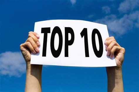 best health news letter from the editor top 10