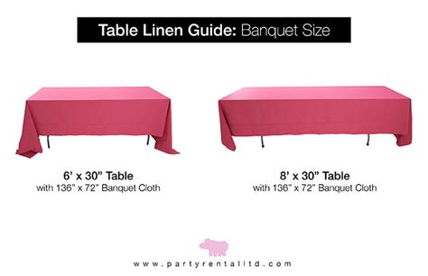 72 table linen size let s linens the guide to table linen sizes