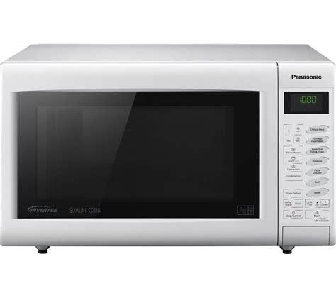 Microwave Panasonic Nn St340m buy panasonic nn ct555wbpq combination microwave white