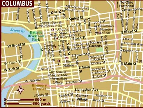 map of columbus map of columbus world map 07