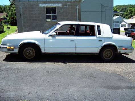 how cars engines work 1993 chrysler fifth ave transmission control find used 1991 chrysler new yorker fifth avenue 4dr 3 8l v6 automatic 1 owner low miles in