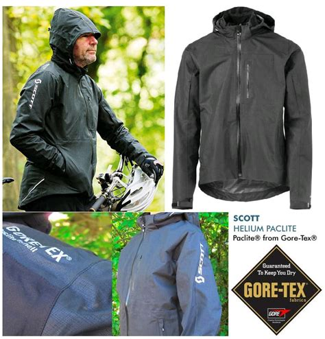 waterproof cycling jacket with hood mens scott gore tex paclite cycling jacket waterproof