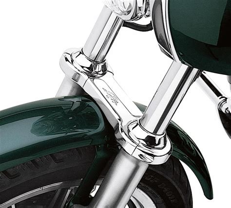 Harley Davidson Fork Brace by 46192 99a Screamin Eagle Fork Brace Chrome 39mm At