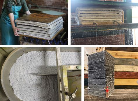 Handmade Paper Process - shop talk archives boxcar press