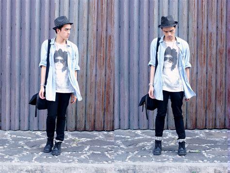Jumped Up Pantry Boy by Paul Jatayna Folded Hung Fedora Zara 21men Denim