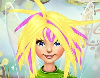 Pixie Hollow Real Haircut Makeover Game Dress Up Games | play free pixie hollow real haircuts