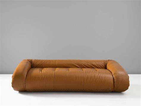 anfibio sofa anfibio leather sofa by alessandro becchi for giovannetti