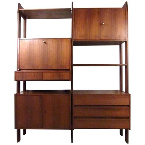 modern wall unit mid century modern modular wall unit for ello for sale at