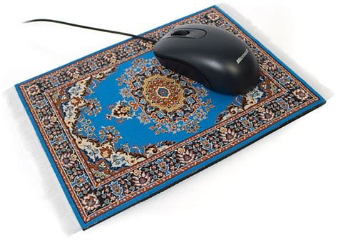 Mouserugs Fancy Mouse Carpets To Replace Boring Mouse Rug Mousepad
